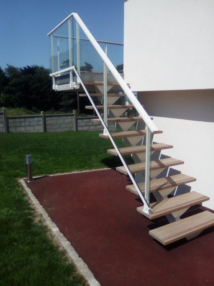 Pose escalier Extérieur Caen