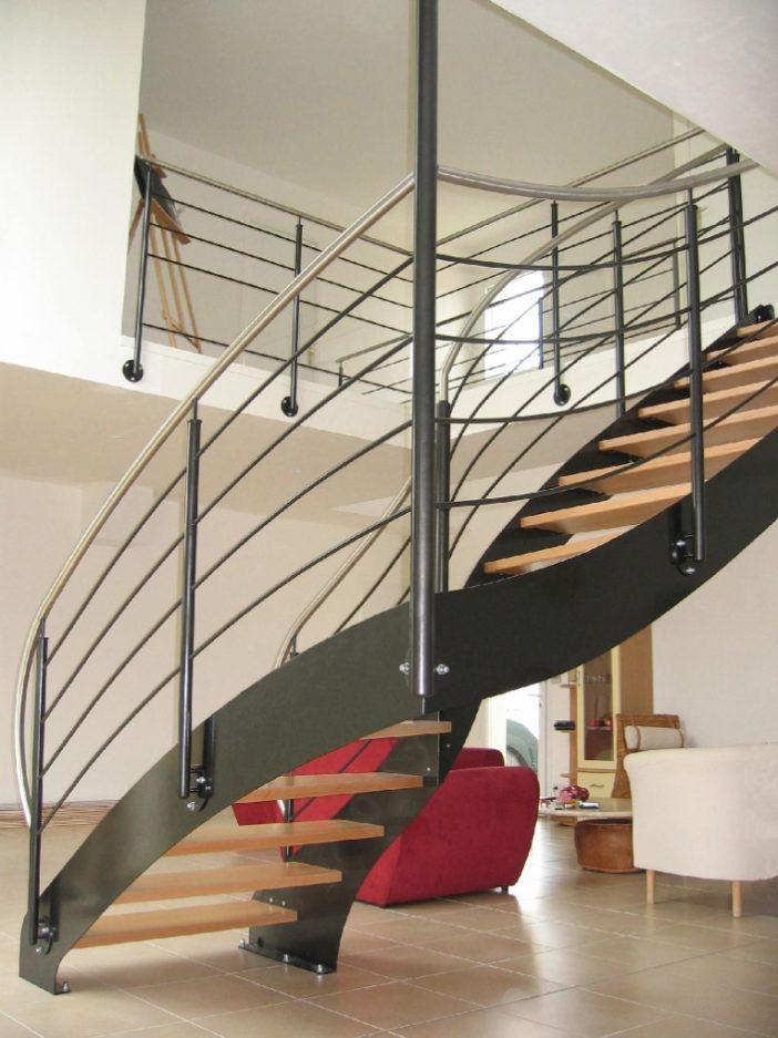 escalier quart tournant normandie