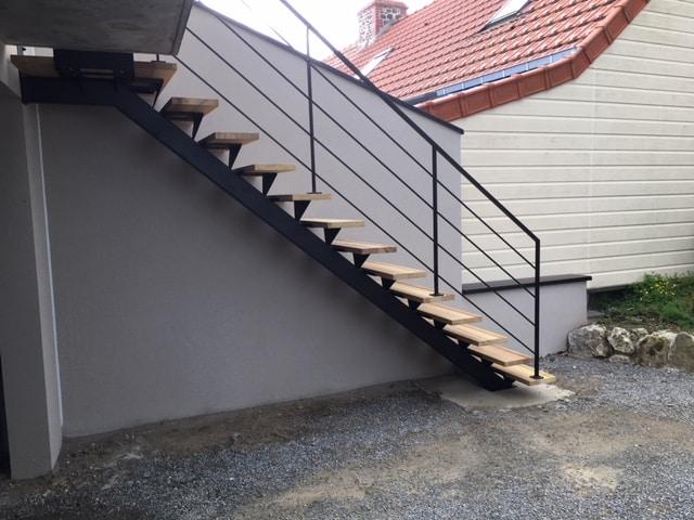 Escalier extérieur Granville