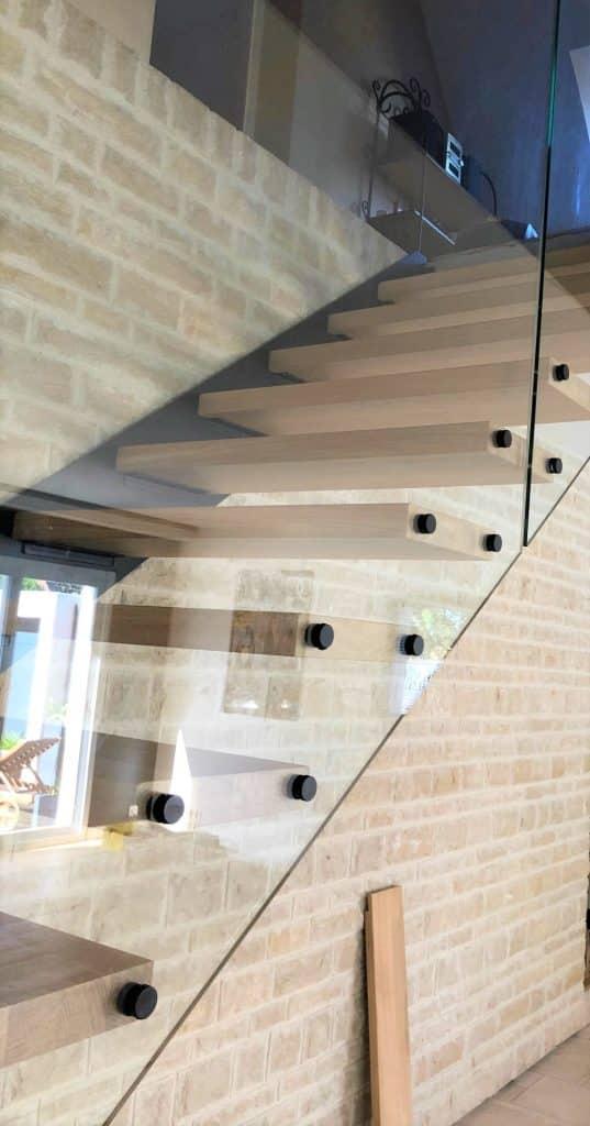 Escalier suspendu à Caen