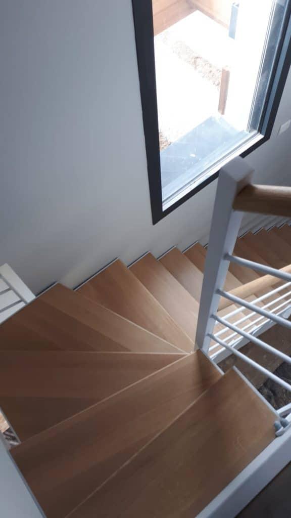 Escalier Design à Cabourg en Normandie