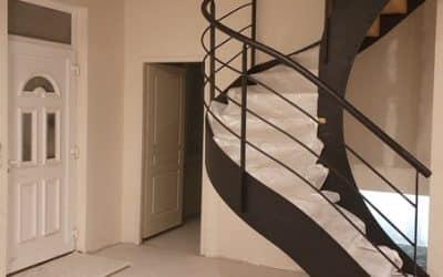 Escalier deux quart tournant debillarde