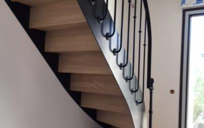 Escalier bistrot Caen