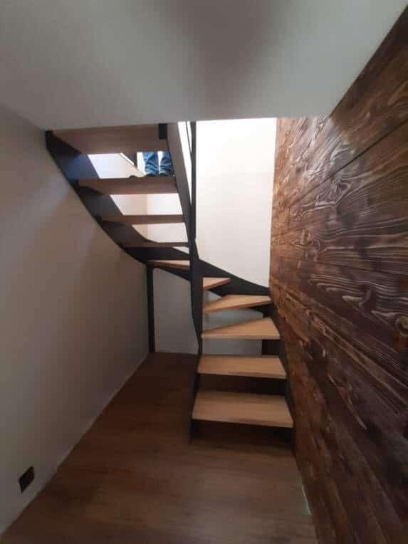 escalier design dans le 61